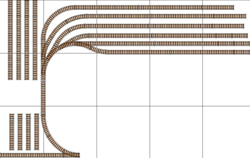 Abstellbahnhof - Gartenbahn Toffeholz